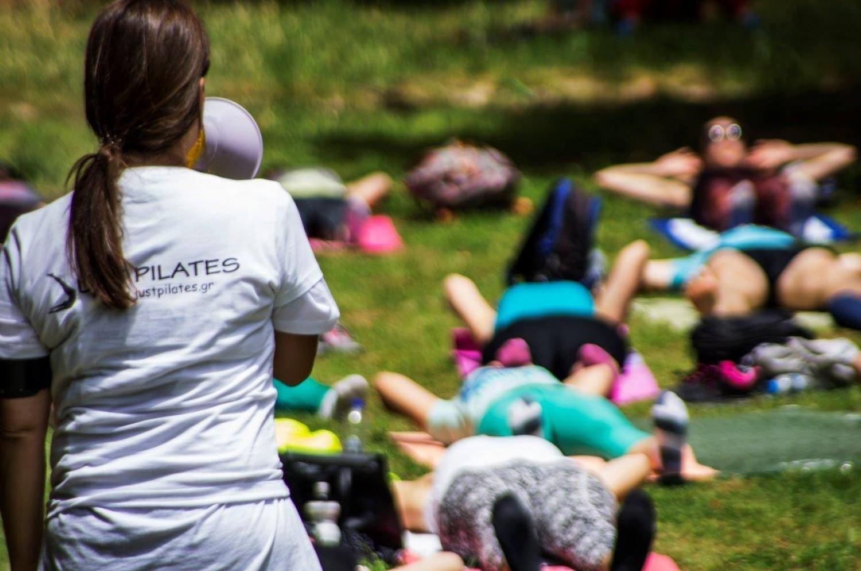 Pilates στον Εθνικό Κήπο: H εκδήλωση