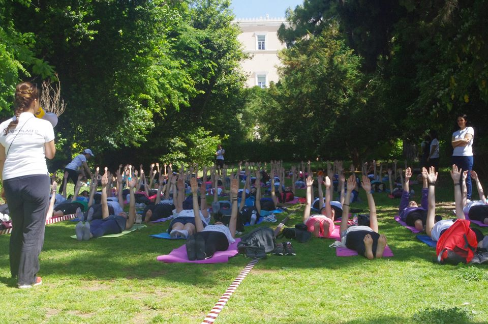 Δωρεάν Ημέρα Pilates στον Κήπο 2018