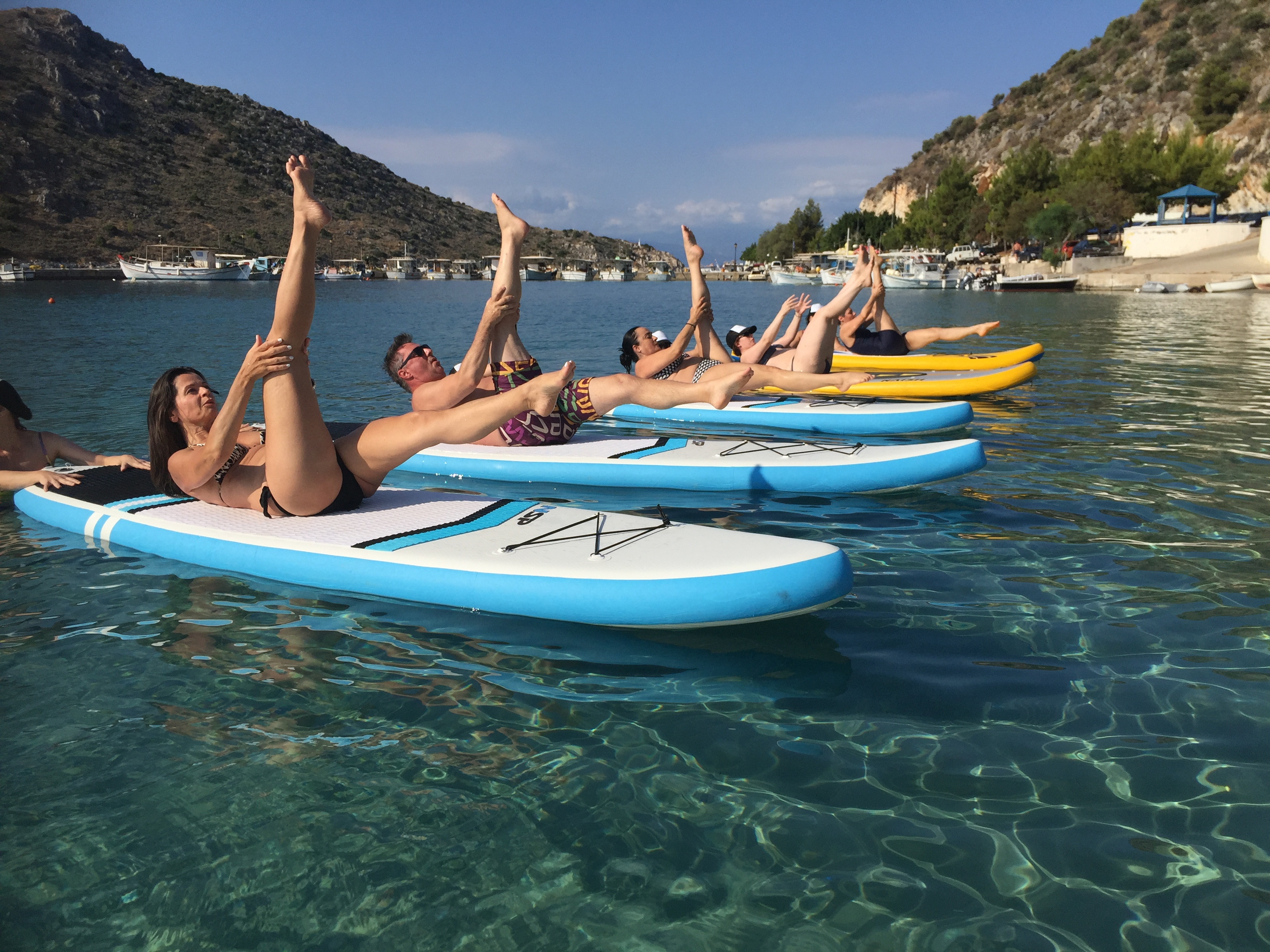 July SUP Pilates Weekend